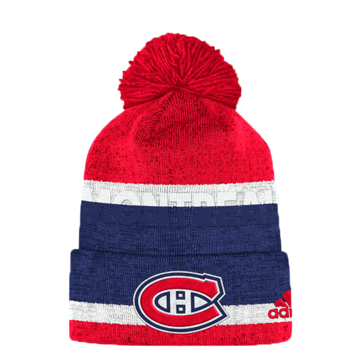 Montreal Canadiens Adidas Tricolor Cuffed Knit Hat