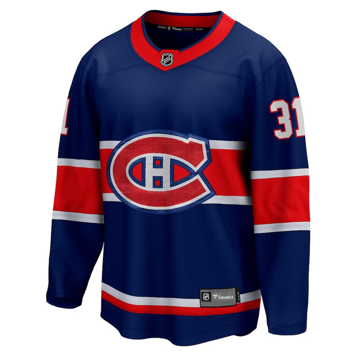 Carey Price Montreal Canadiens Fanatics Blue 2020/21 Special Edition Breakaway Jersey