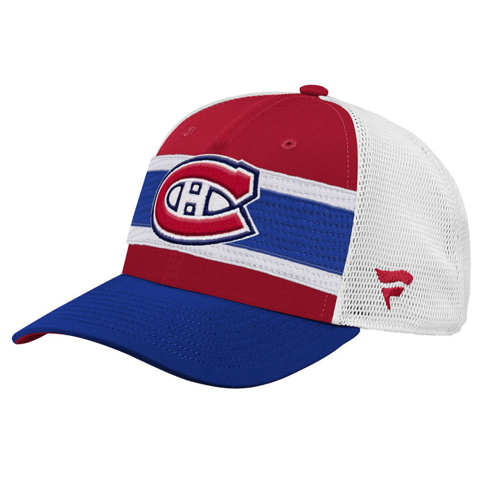 Montreal Canadiens Youth Fanatics 2020 Structured Meshback Adjustable Hat