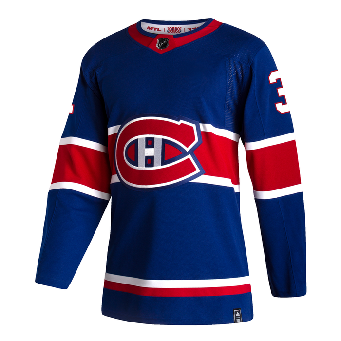 Carey Price Montreal Canadiens Adidas Reverse Retro Authentic Blue Home Jersey