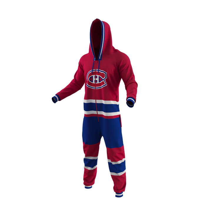 Montreal Canadiens Hockey Sockey Team Uniform Onesie