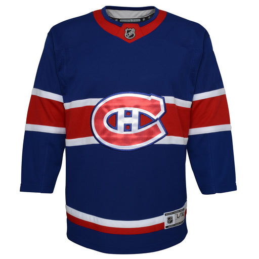 Montreal Canadiens Youth Blue Special Edition Premier Jersey