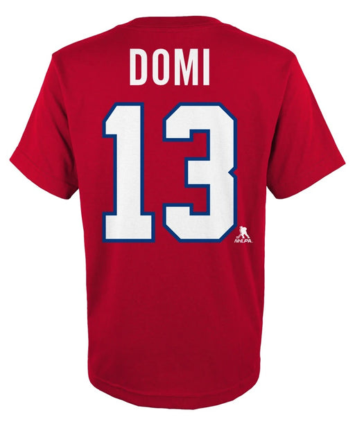 Max Domi Montreal Canadiens Youth Red T-shirt