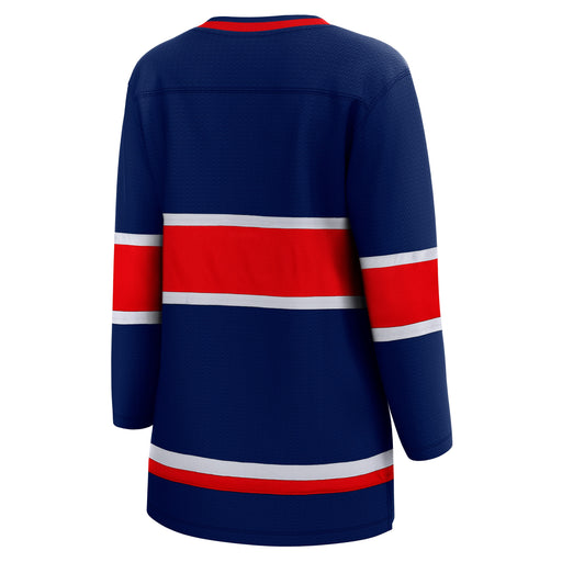Montreal Canadiens Fanatics Blue Womens 2020/21 Special Edition Breakaway Jersey