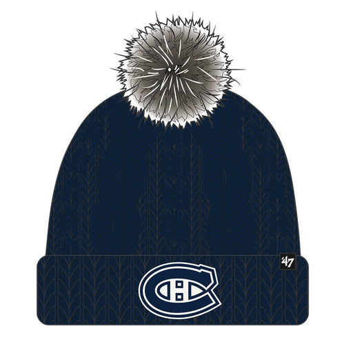 Montreal Canadiens 47 Navy Meeko Cuff Knit Toque