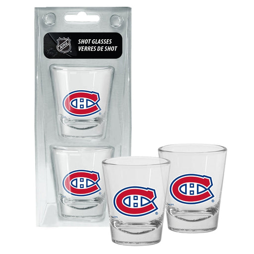 Montreal Canadiens Shot Glass Pack of 2