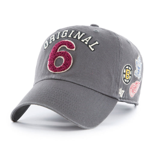 Original Six 47 Rink Clean Up Adjustable Hat