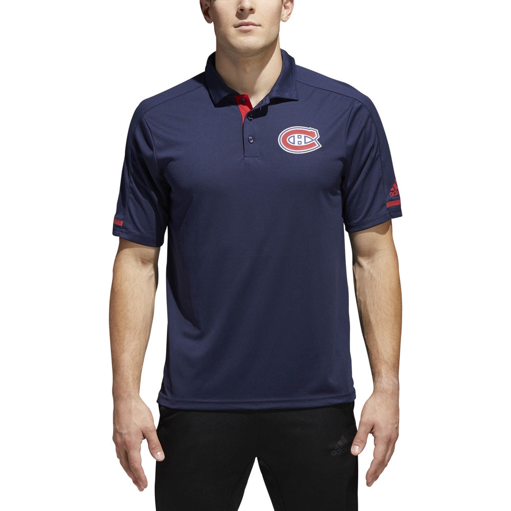 Montreal Canadiens Adidas Navy Polo T-Shirt