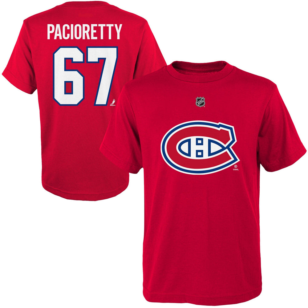 Max Pacioretty Montreal Canadiens Youth Red T-shirt