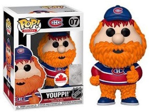 Youppi POP NHL figures Red Home Jersey Funko