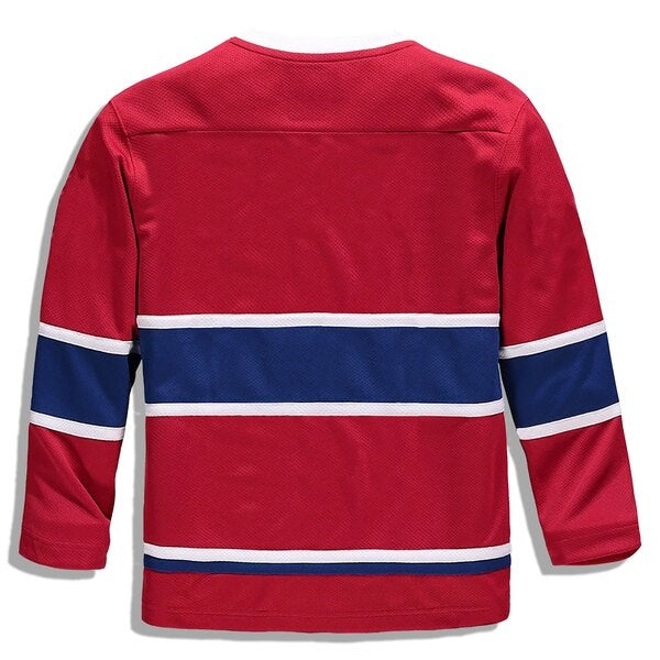 Kids Montreal Canadiens Pro Stitched Jersey Customization