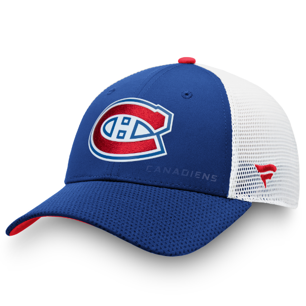 Montreal Canadiens Fanatics Rinkside Mesh Structured Adjustable Hat