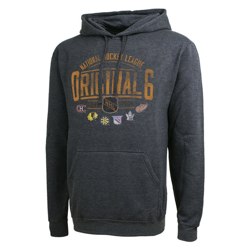 Original Six 47 Grey Dutton Fleece Pullover Hoodie