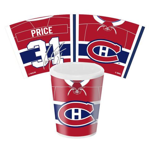 Carey Price Montreal Canadiens NHLPA 1.5oz Shot Glass