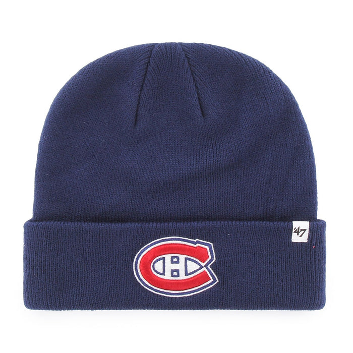 Montreal Canadiens '47 Blue Raised Cuff Knit Hat