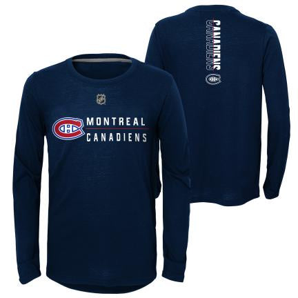 Montreal Canadiens Youth Deliver a Hit Long Sleeve Shirt