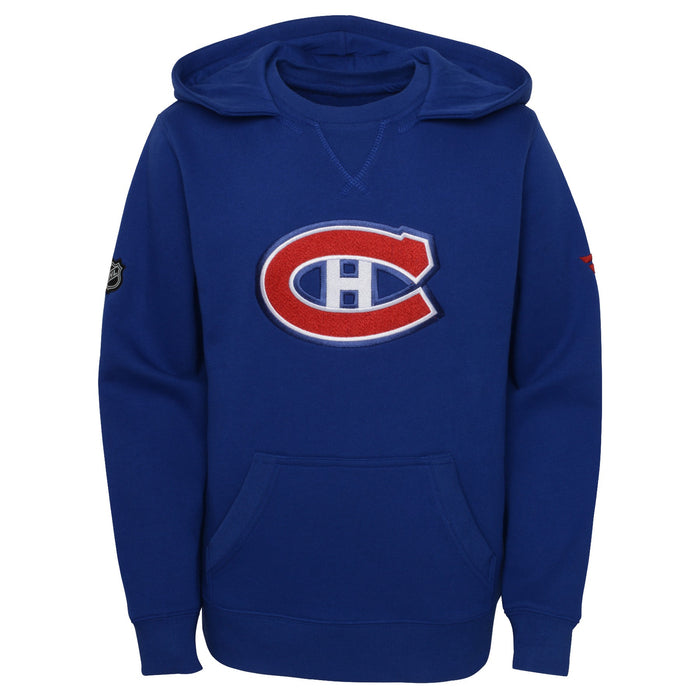 Montreal Canadiens Youth Special Edition Blue Pullover Fleece Hoodie