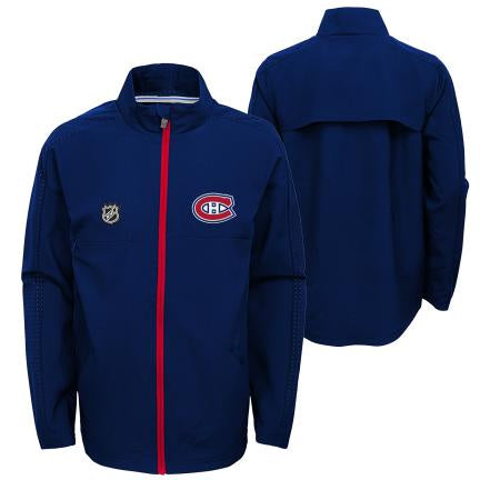 Montreal Canadiens Youth Prevail Lightweight  Jacket