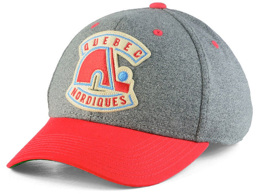 Quebec Nordiques Grey Structured Flex CCM Hat