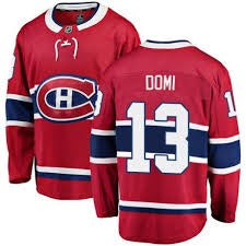 Max Domi Montreal Canadiens Fanatics Branded Breakaway Home Jersey