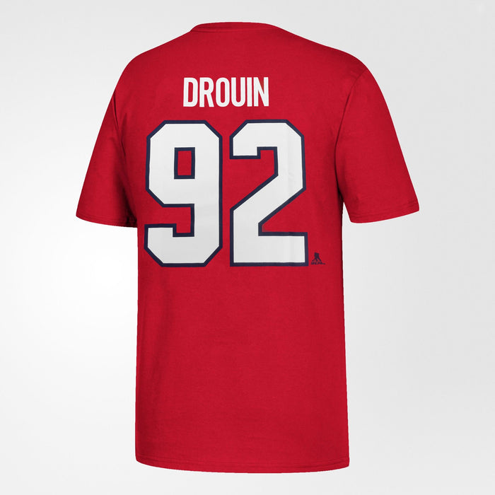 Jonathan Drouin Montreal Canadiens Youth Red T-Shirt