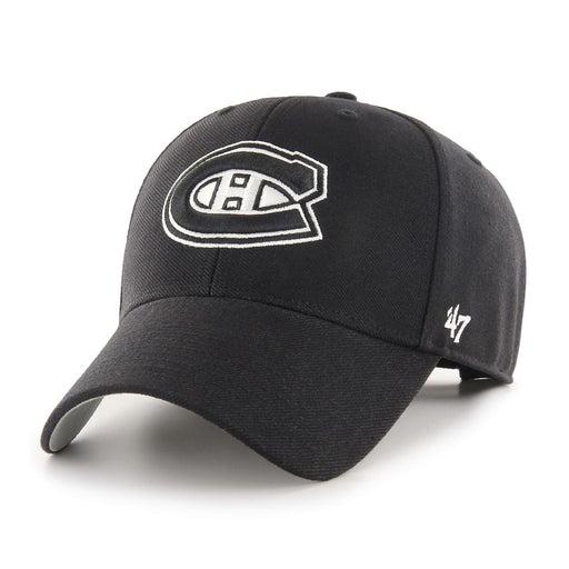 Montreal Canadiens 47 Black MVP Adjustable Hat