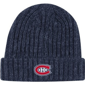 Montreal Canadiens Adidas Women's Cuffed Pom Knit Hat