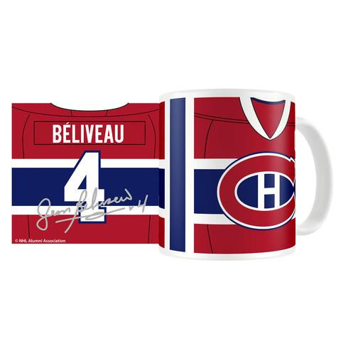Jean Beliveau 11oz. NHLPA Coffee Mug - Montreal Canadiens