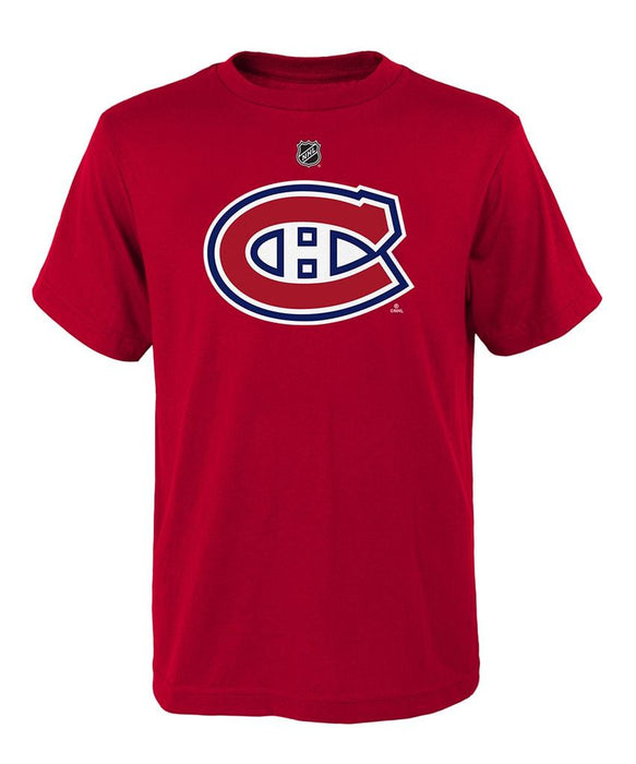 Montreal Canadiens Youth Red Primary Logo T-Shirt