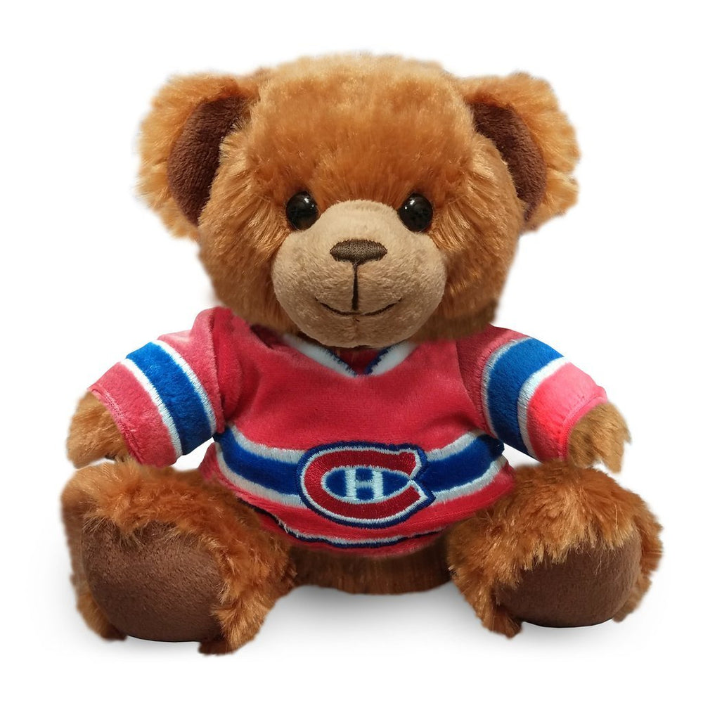 Montreal Canadiens Seated Jersey Bear
