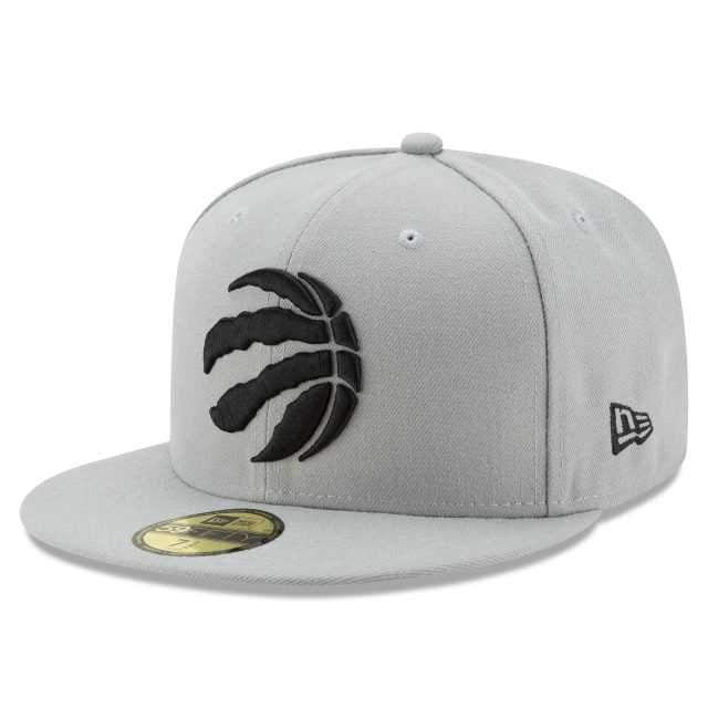 Toronto Raptors New Era 59FIFTY Grey Fitted Team Hat