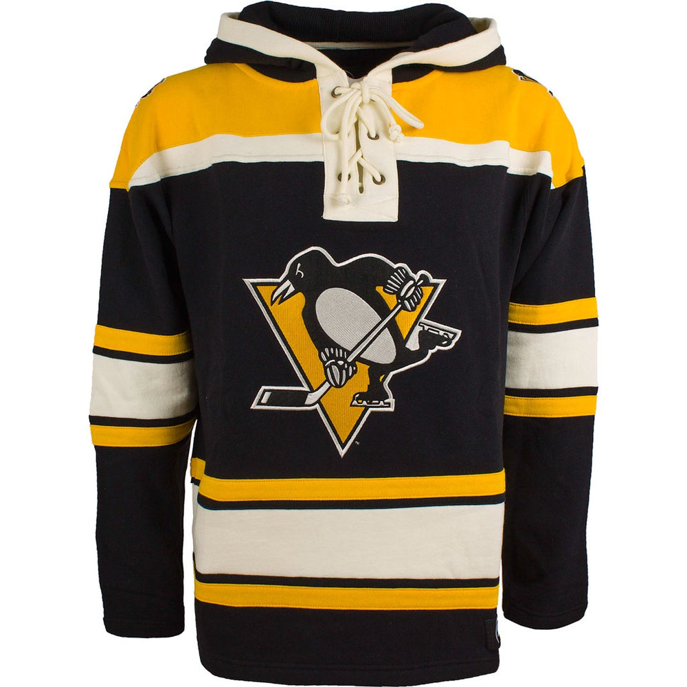 Pittsburgh Penguins 47 Black Heavyweight Lacer Hoodie