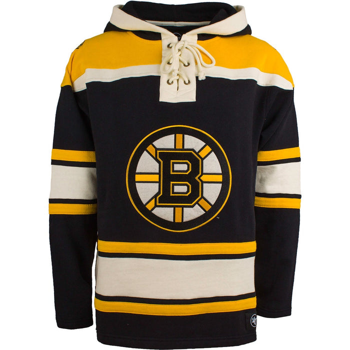 Boston Bruins  47 Black Heavyweight Lacer Hoodie