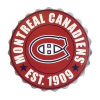 Montreal Canadiens Bottle Cap Wall Logo