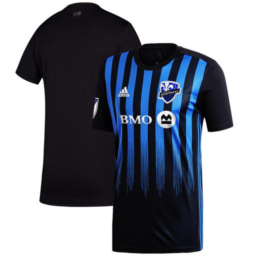 Montreal Impact Adidas Youth Black Primary Replica Home Jersey