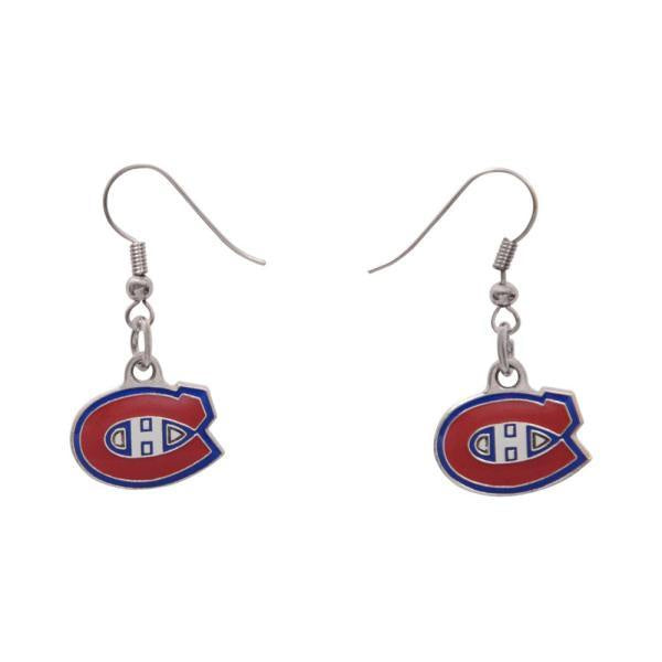 Montreal Canadiens Pendant Earrings