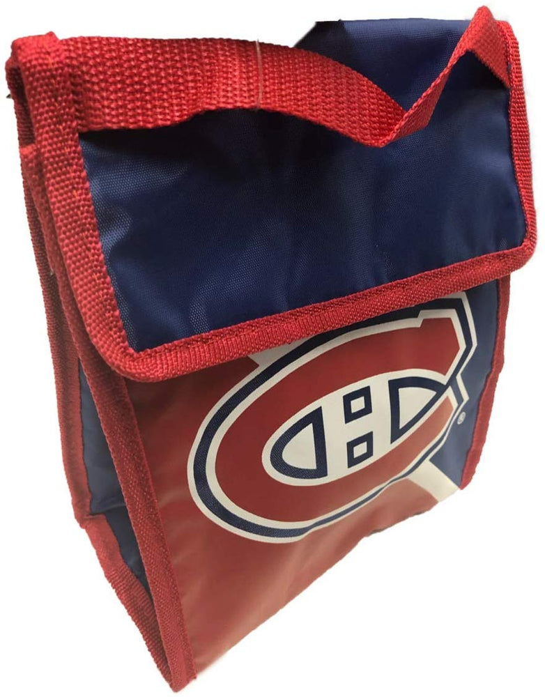 Montreal Canadiens Two Tone Velcro Lunch Bag