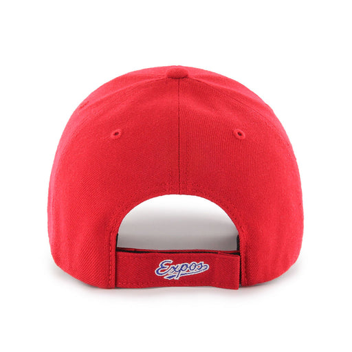 Montreal Expos 47 Brand Red MVP Adjustable Hat