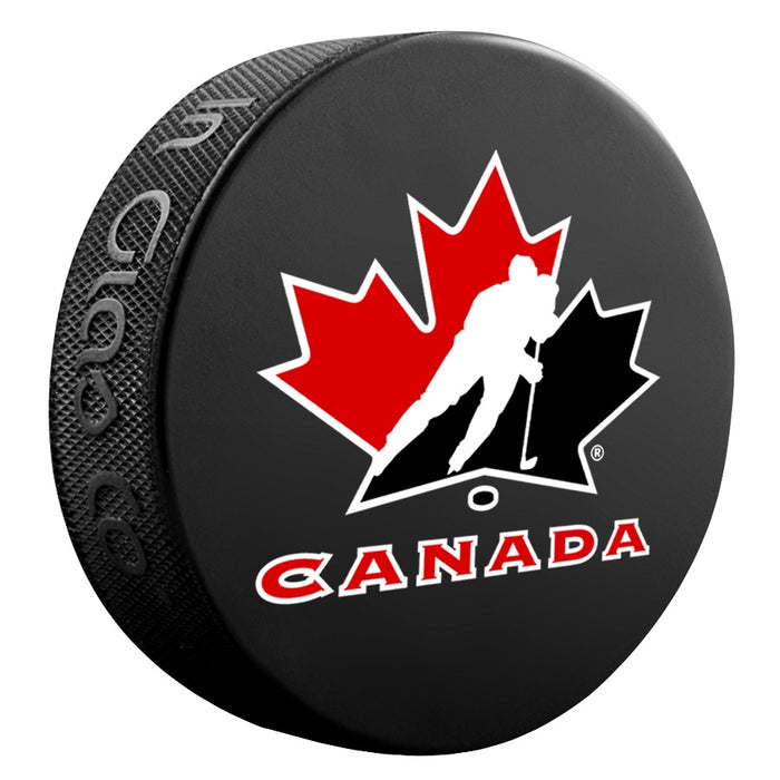 Team Canada Black Basic Puck