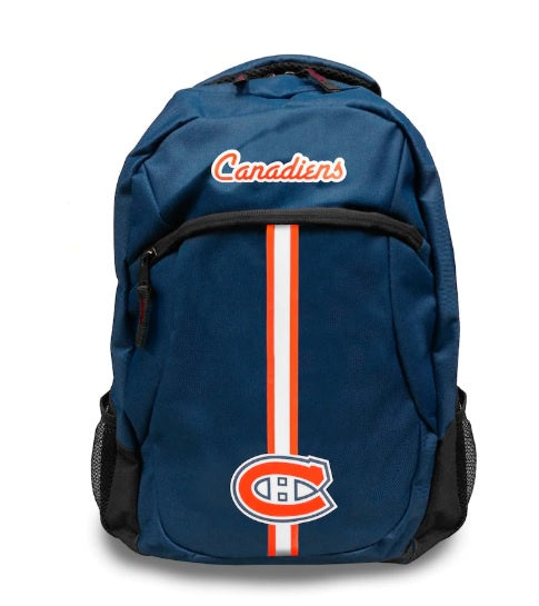 Montreal Canadiens Navy Action Backpack
