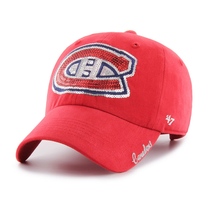 Montreal Canadiens 47 Red Sparkle Clean Up Hat