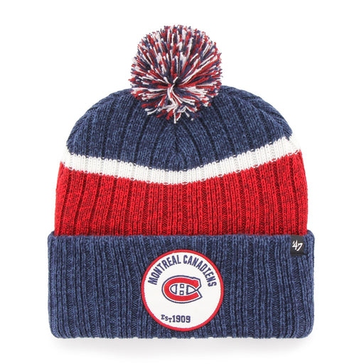 Montreal Canadiens 47 Navy Holcomb Cuff Knit