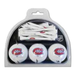 Montreal Canadiens NHL 2 Pack Ball and Tee Set