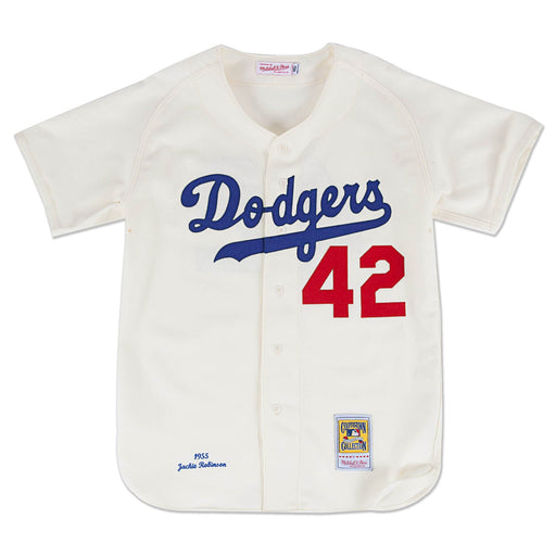 Jackie Robinson Brooklyn Dodgers Mitchell & Ness 1955 Authentic Jersey