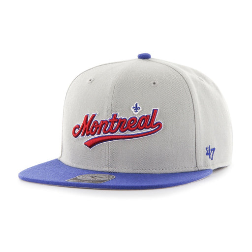 Montreal Expos Sure Shot 2 Tone 47 Captain Cap