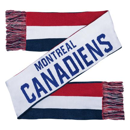 Montreal Canadiens Youth Combo Knit Scarf