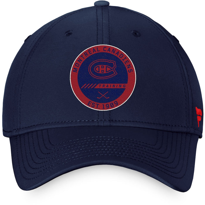 Montreal Canadiens Fanatics Draft 2020 Red Authentic Pro Flex Fit Hat