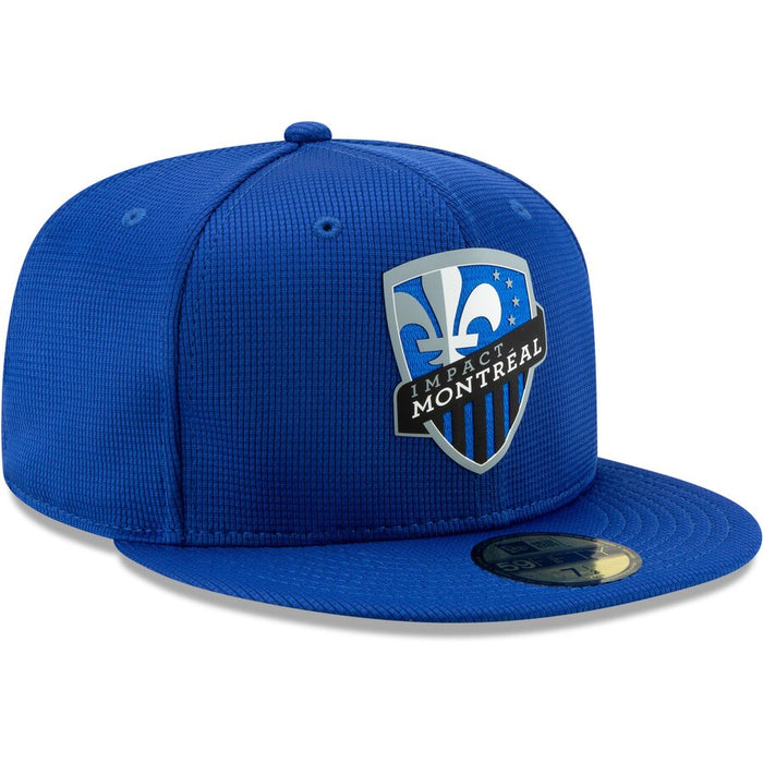 Montreal Impact New Era 59Fifty Blue On-Field Fitted Hat
