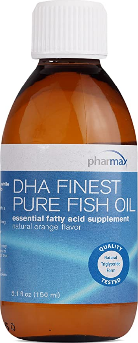 DHA Finest Pure Fish Oil (High DHA) 5.1 fl oz