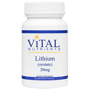 Lithium (orotate) 20 mg